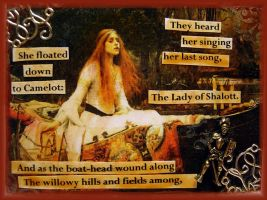 The Lady Of Shalott ll by Bohemiart