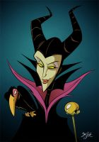 Maleficient - 01 by Themrock