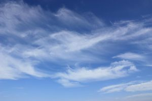 Feather clouds by CAStock