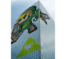 46-Story Link skyscraper in Japan! by J-Skipper
