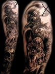 Black Death Sleeve session 2 by sludger