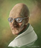 Futurama - Hubert Farnsworth by Aioras
