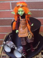 custom Monster High: Goblin Girl 1 by fuchskauz