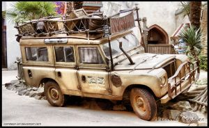 1979 Land Rover 109 by compaan-art