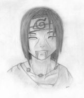 Itachi's last smile by Slyte3