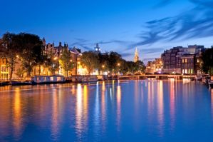 Amsterdam City Lights by hariskalin