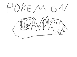 Pokemon Gamate Version Title Screen Sketch by Arshes91