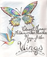 Wings haiku by AngelicSomnolence