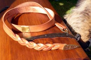 Viking Belt Commission by Meredyth