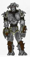 Warforged Grappler - Volrathxp by EberronFanArt