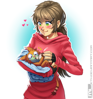Marmolie - Bottle feeding by MLeth