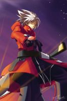 Ragna the bloodedge by Banzatou