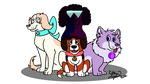 We are the Crystal Gems by BanditKat
