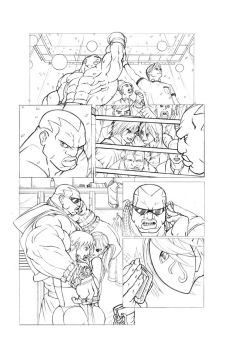 Street Fighter 10 P18 by know-one-draws