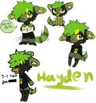 Hayden doodles by Damian-Fluffy-Doge