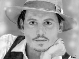 Johnny Depp by ConnieUitsu