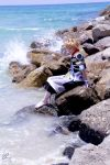 Serenity at the sea by KlOvEr-B