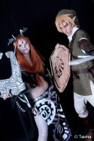 Link and Midna by saetiz