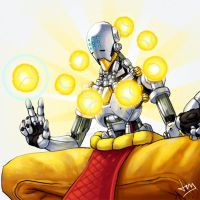 Overwatch 5/8 - Zenyatta by Jevi93