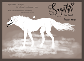 Char sheet - Sanetille by Kerwana