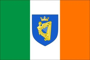 Flag Proposal for reunified Ireland by GeminiGoat