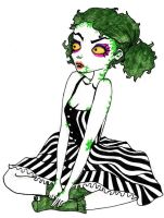 Beetlejuice's daughter by Laura-Bosley