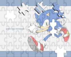 Sonic The Hedgehog Puzzle by CristianHarold0000