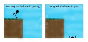 Gravity Comic - Coloured by FakeHonestyTrueLie