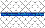 Gimp Chainlink Fence Pattern by Geosammy