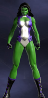 She-Hulk (DC Universe Online) by Macgyver75