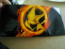 Hunger Games Duct Tape wallet by DucTaPetHis