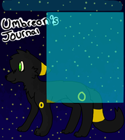 Umbreon's journal skin commish by GIZM0GUTS