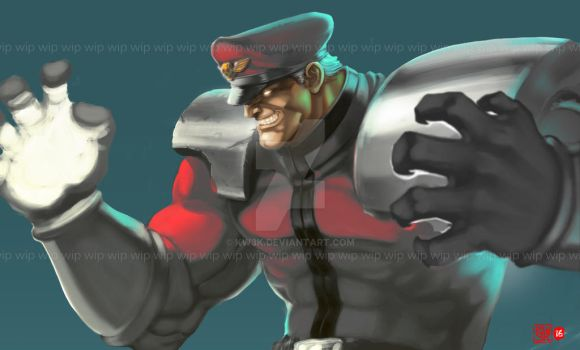 Lord Bison wip by kw3k