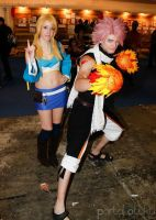 Natsu and Lucy cosplay - x791 by onlycyn