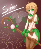 Sophie the Earth Mage by ruri-tan