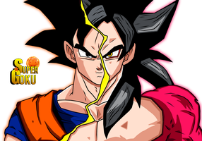Goku-Goku Ssj4 by Supergoku37