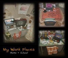 My Work Places by FightTheAssimilation