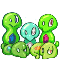 Zygarde Cores by Blue-Lopunny