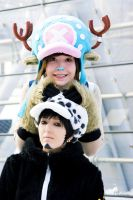 One Piece - Ready,Let's Go - Law + Chopper Cosplay by Murdoc-lein