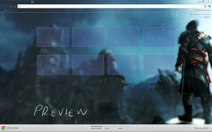 Assassin's Creed Revelations chrome theme by birdgirl69
