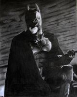 The Dark Knight Rises Batman by donchild