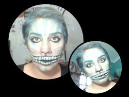 makeup cheshire cat by R-Carri