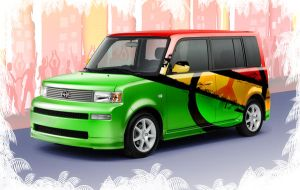 Scion XB Peace by torchdesigns