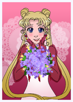 Happy Valentine Tsukino Usagi by skelly-jelly