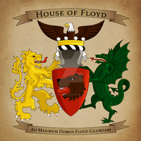 Floyd Coat of Arms - Aged by LieutenantHawk