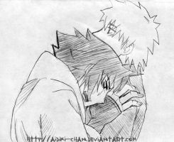 Sasuke cries by Aidiki-chan