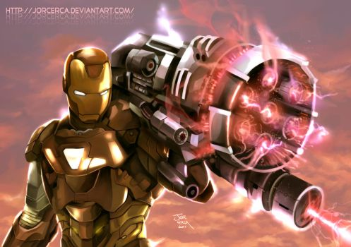 Iron Man Proton Cannon by jorcerca