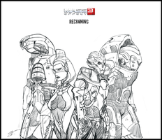 Mass Effect 3: Reckoning - Newfound allies_Sp28 by Kasimova