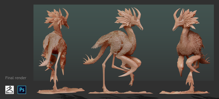 Creature Design Exercise n.1 by NocturnaDraco