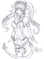 Otakon 2011 Sketch: Mercedes by yuureikun